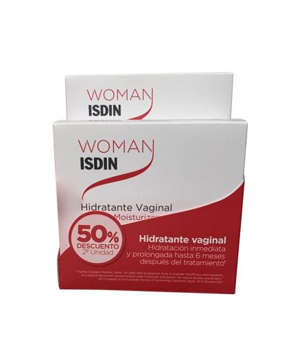 Woman Isdin Duo Hidratante Vaginal 6 ML Dto 50% 2º und